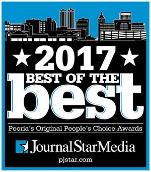 Voted Best Pest Control Company by the Peoria JournalStar